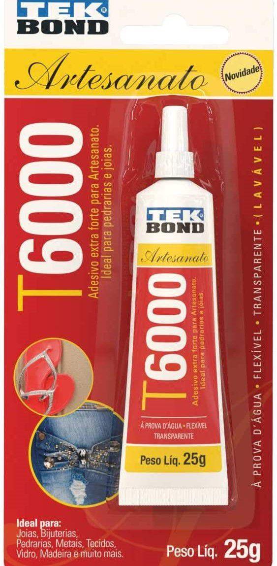 Cola Para Artesanato Tekbond T6000 25g