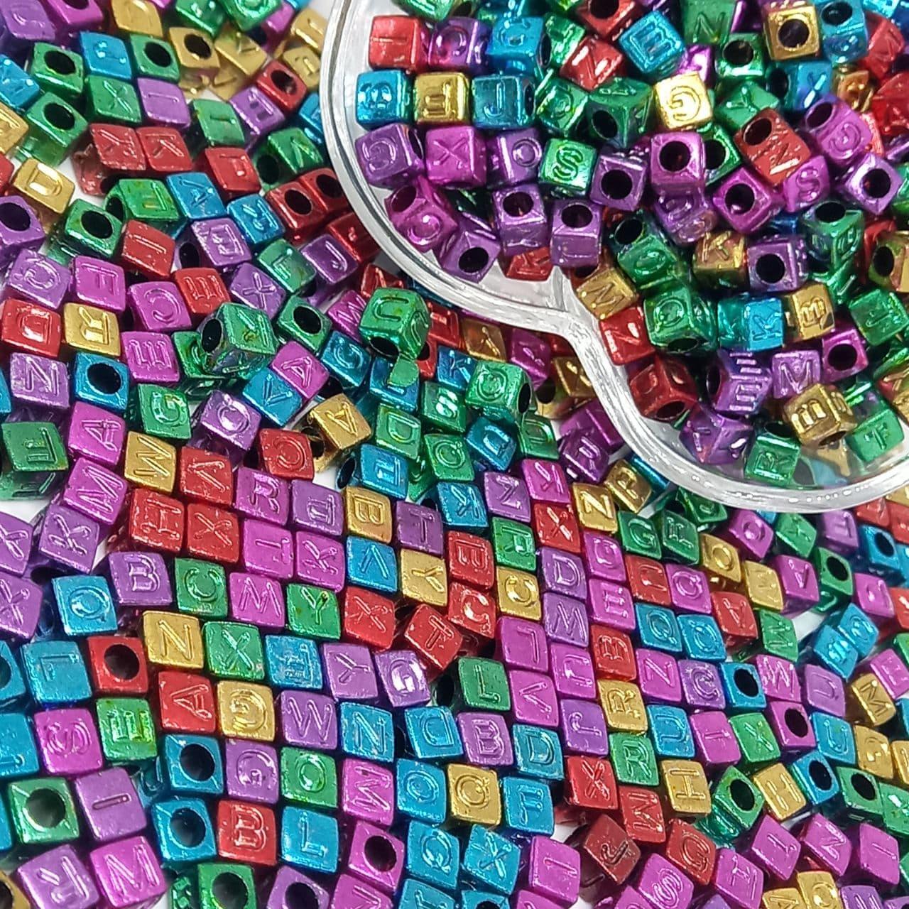 Cubo metalizado multicolor 500g-6mm