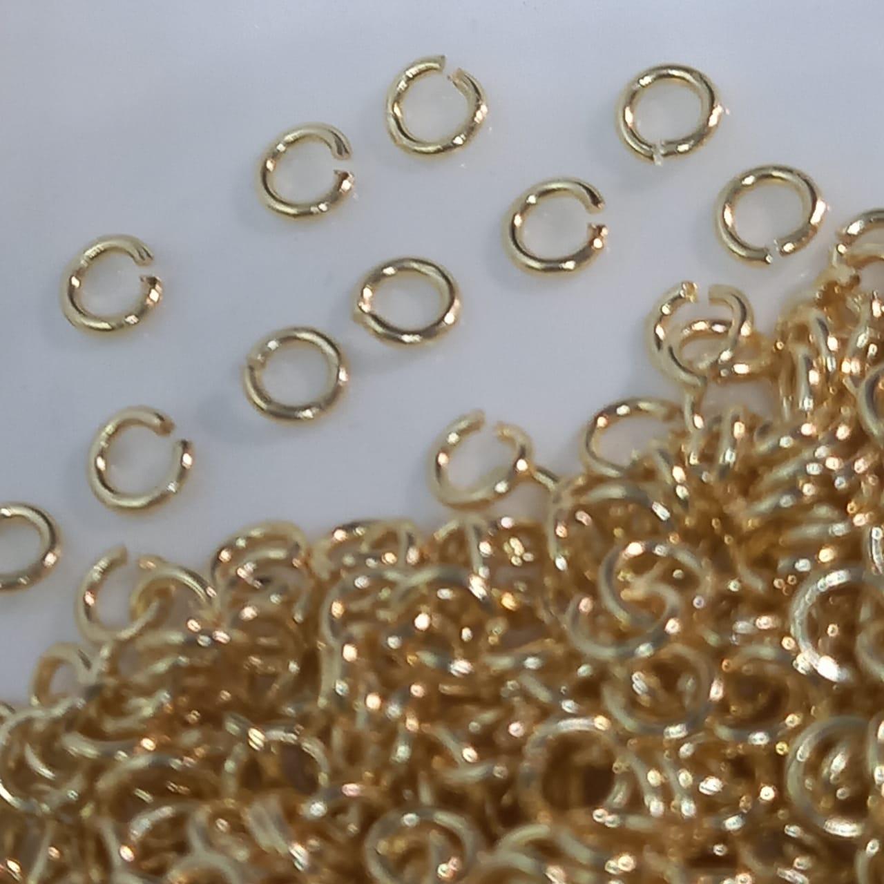 Elo dourado  2,5mm  - 10g