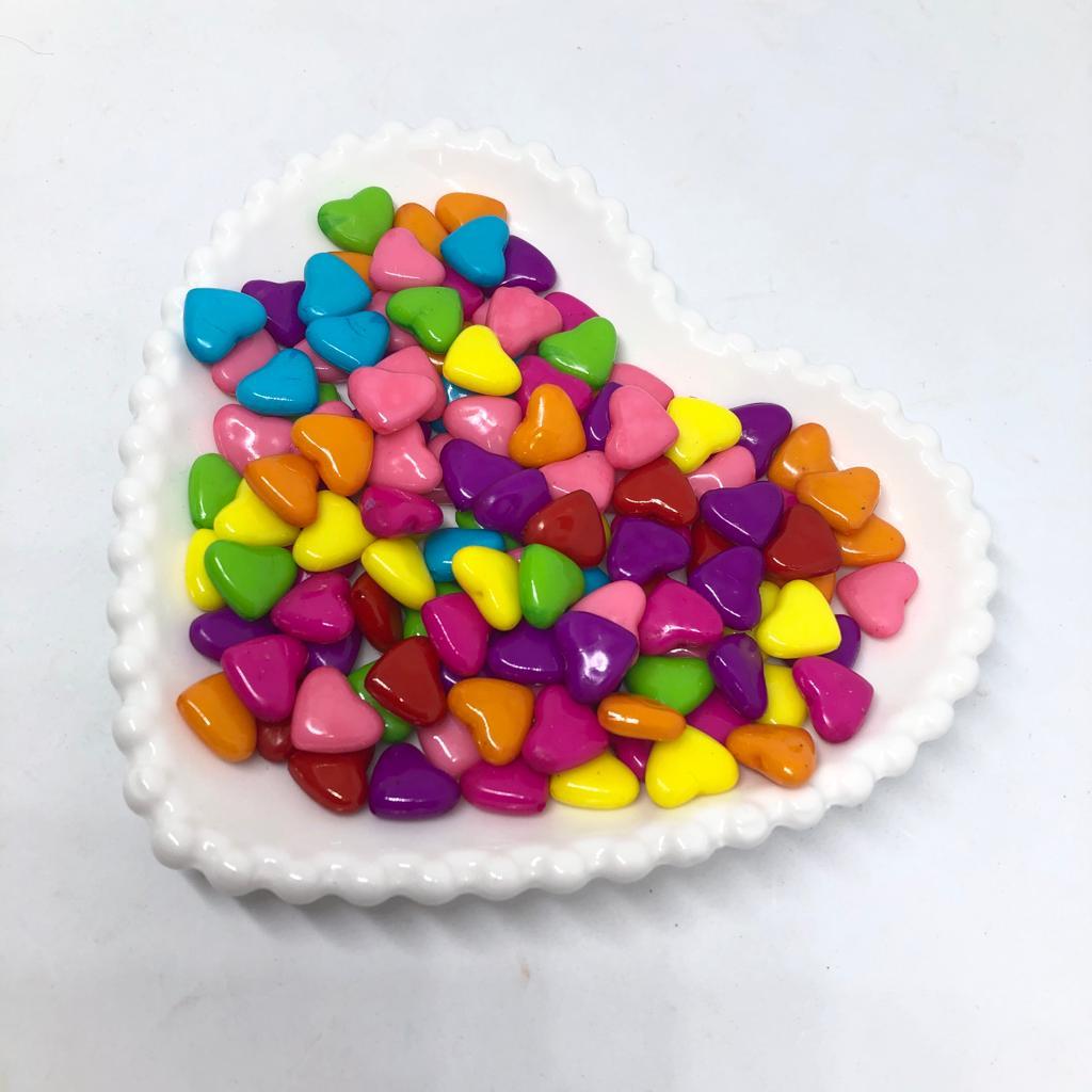 Entremeio de coração grande 15x11 - 25 gr
