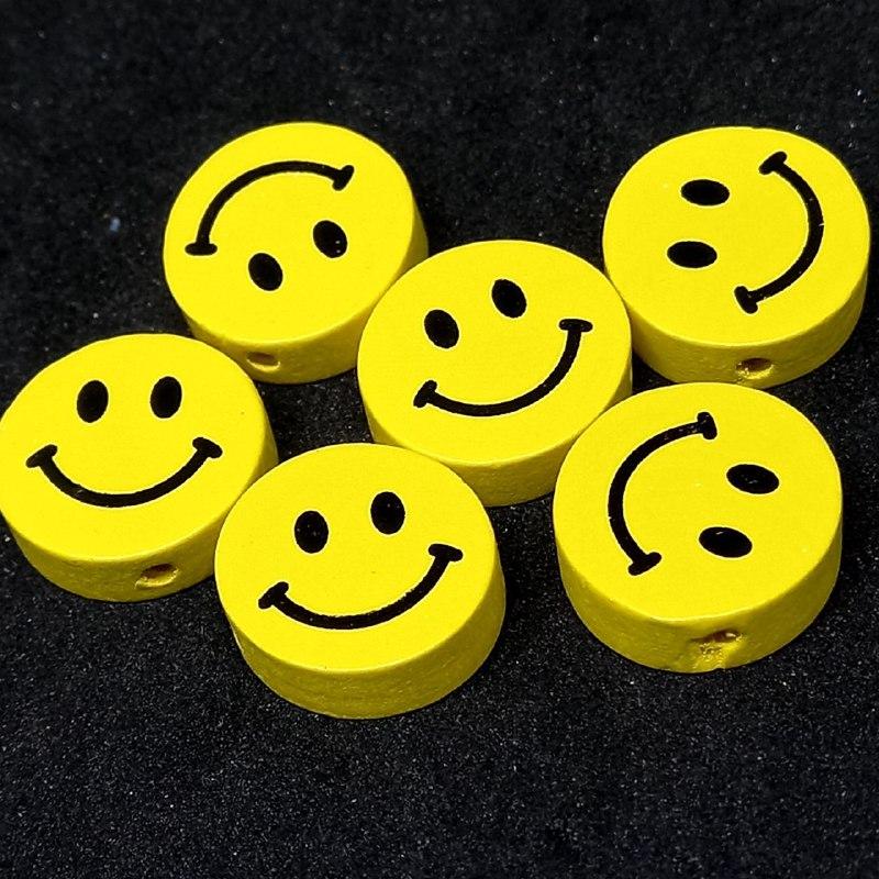 Entremeio de rostinho amarelo 17mm / unidade