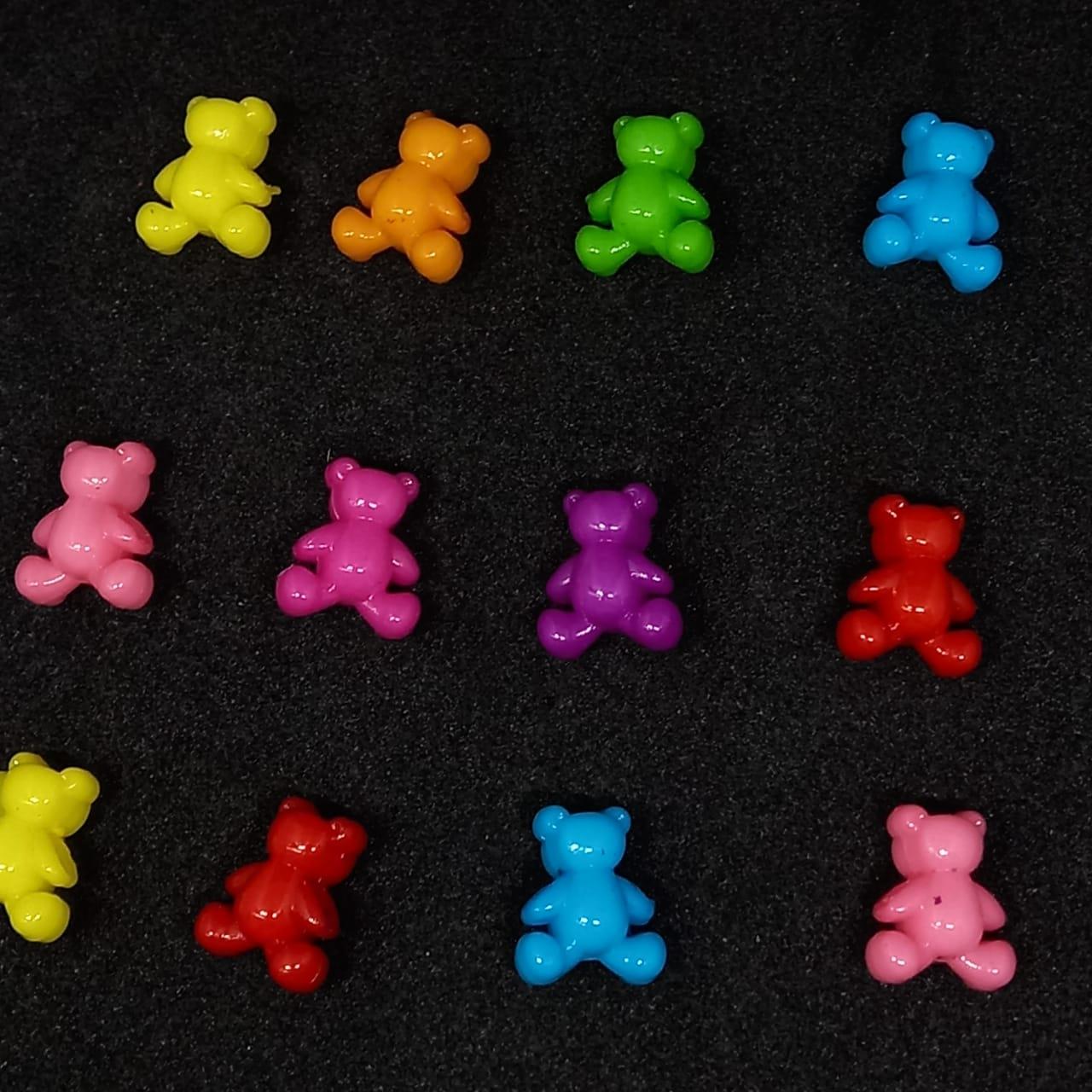 Entremeio urso multicolor 25 gr 13mm