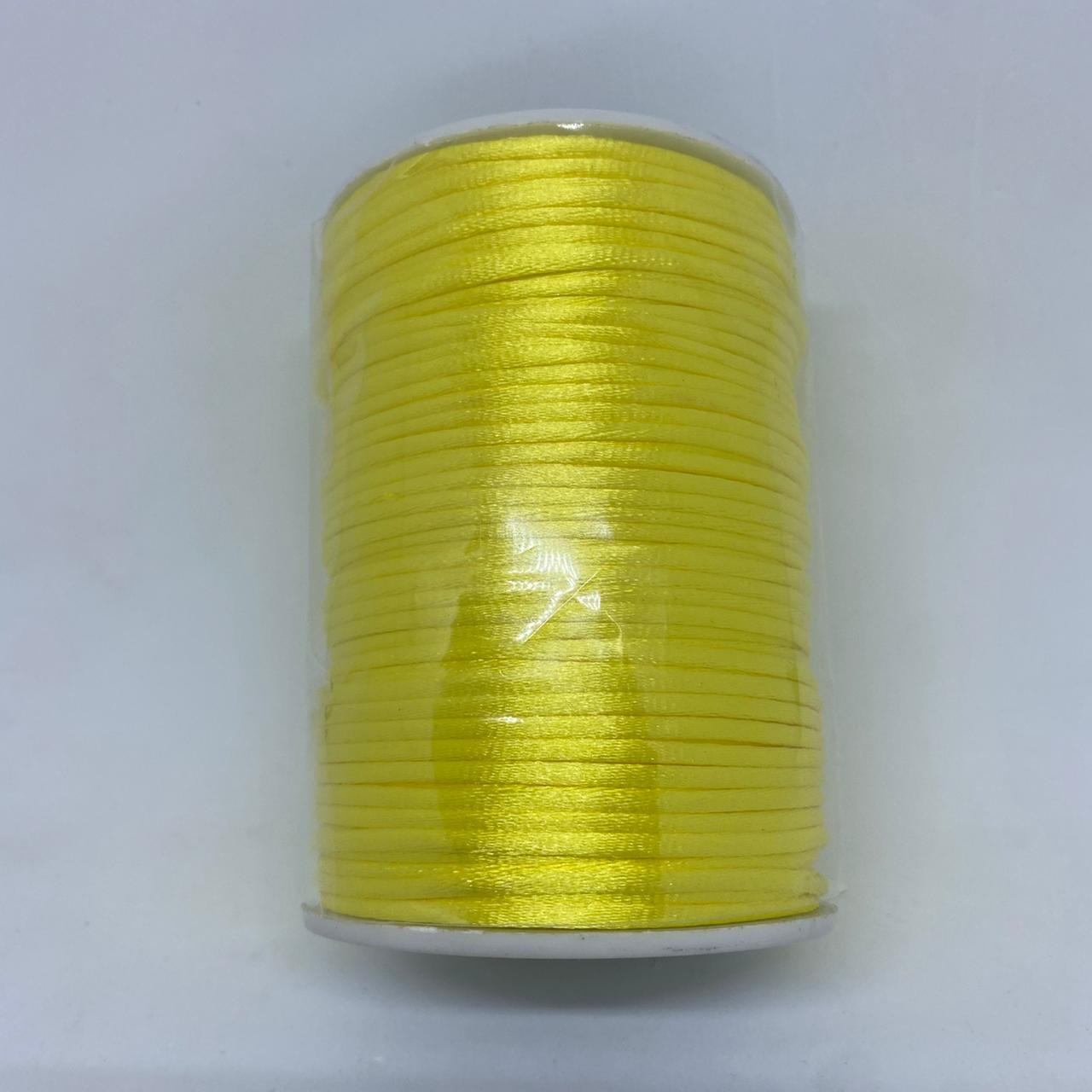 Fio de amarelo claro  c/ 10 metros 2mm