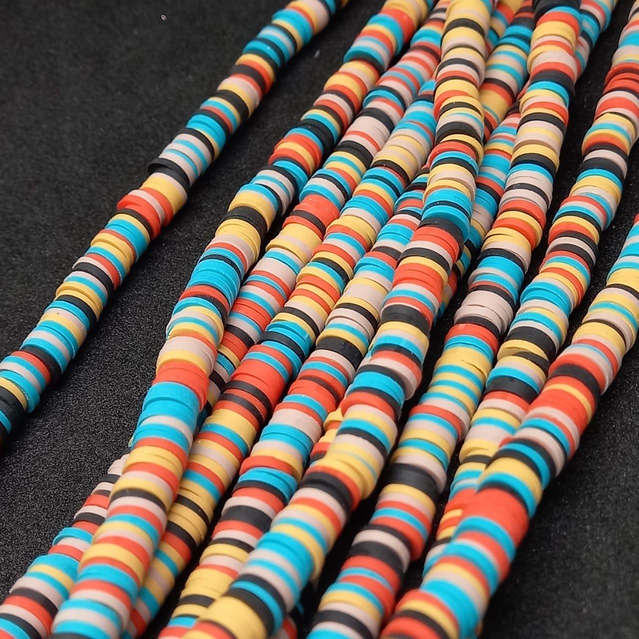 Fio de fimo multicolor  6mm (5709)