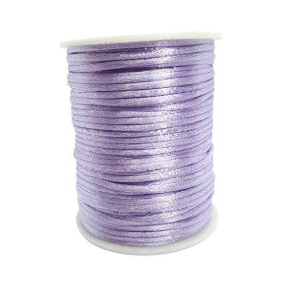 Fio de seda lilás c/ 10 metros 2mm
