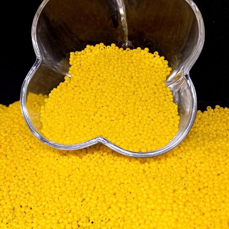 Miçanguinha jablonex amarelo leitoso  2.6mm (9/0) 25g