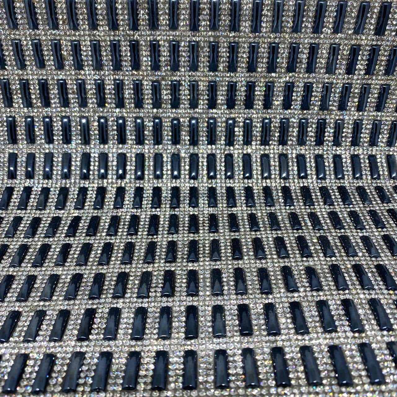 Micro Manta de strass 23x35cm unidade 5025
