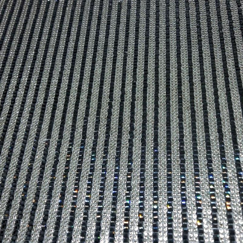 Micro Manta de strass 23x40cm unidade 15