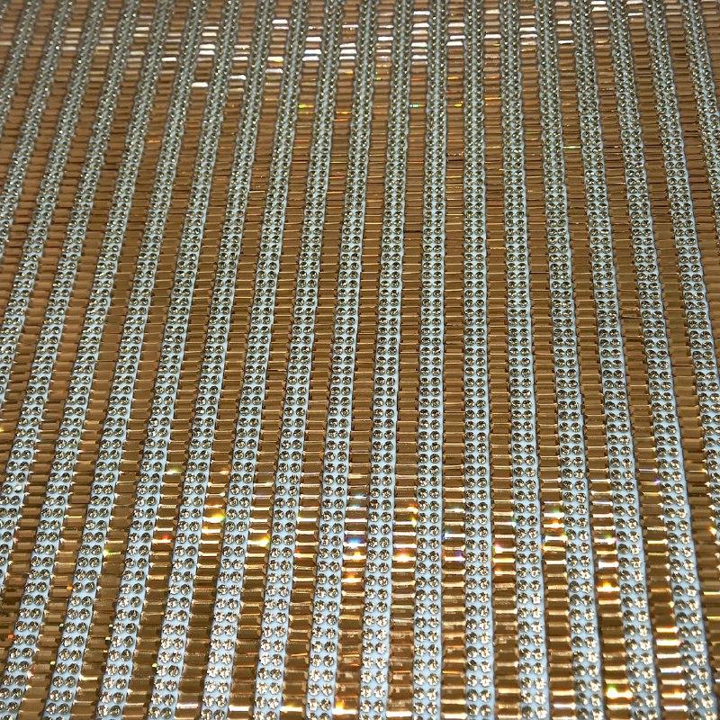 Micro Manta de strass 23x40cm unidade 26