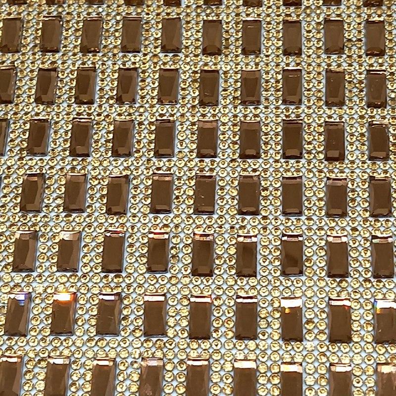 Micro Manta de strass 23x40cm unidade 40