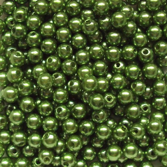 Perola verde bandeira 8mm - 25g