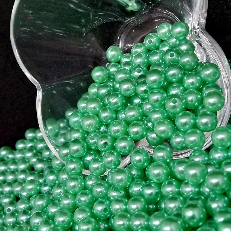 Perola verde claro  8mm - 25g