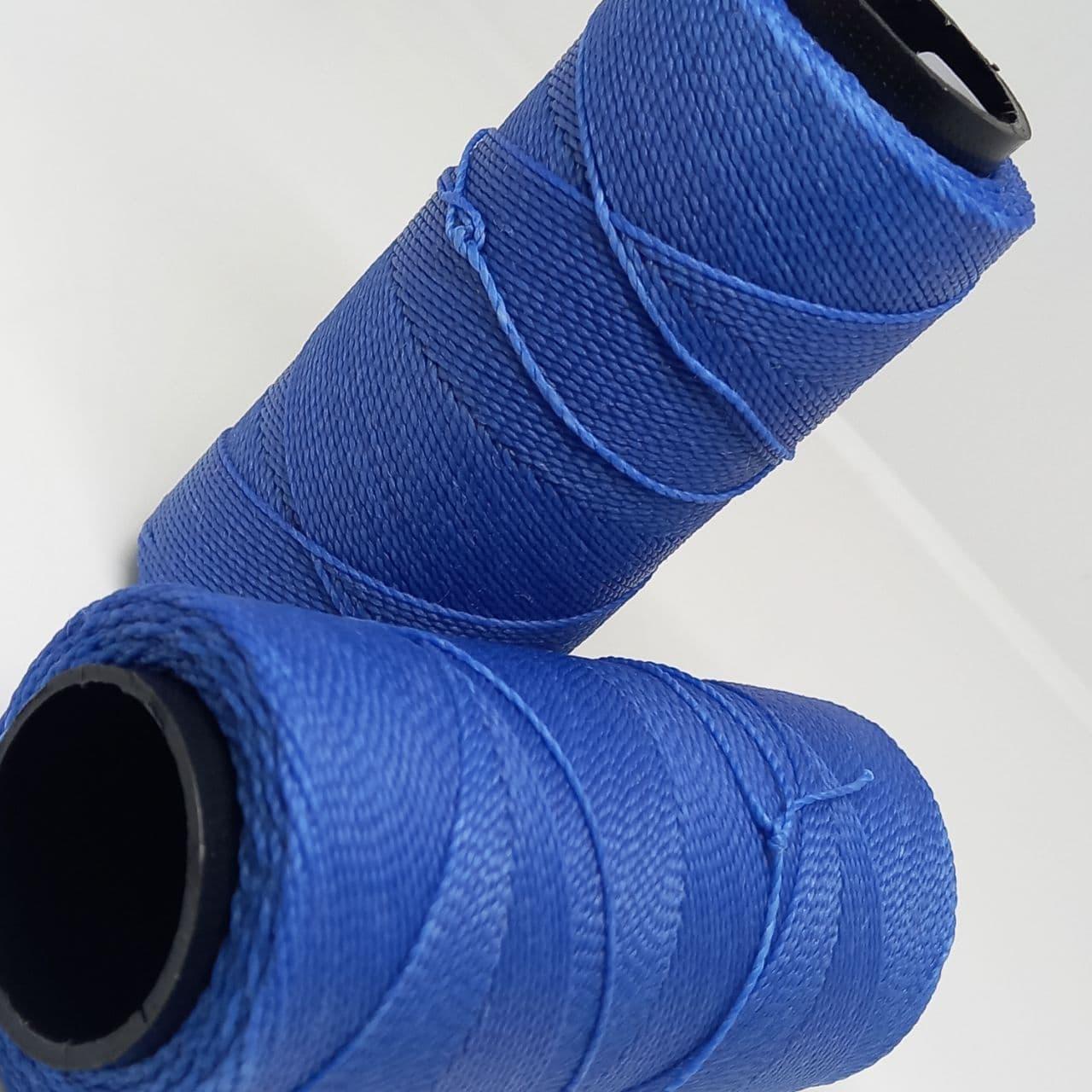 Rolo linha encerado azul jeans c/ 160 Metros (0736)