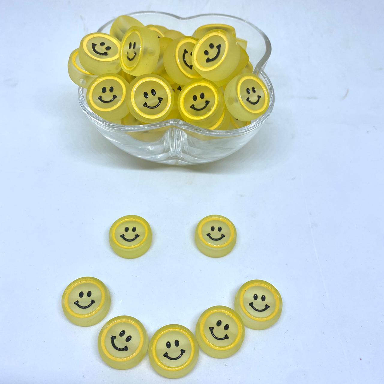 Smile amarelo 20mm / unidade