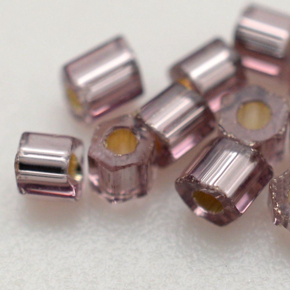 Vidrilhos Jablonex Lilás Espelhado 2x9/0=2,6mm
