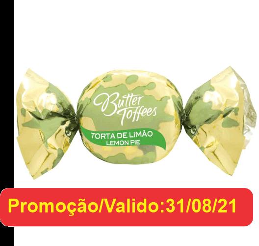 BALA BUTTER TOFFEES TORTA DE LIMÃO 500GR ARCOR