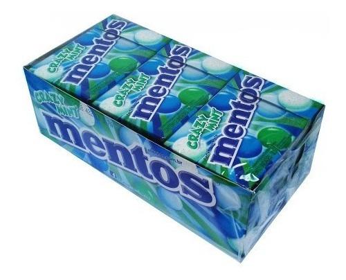 BALA MENTOS SLIM BOX ICE MINT COM 12 UNIDADES