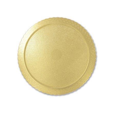 CAKEBOARD REDONDO 21CM COM 5 UNIDADES ULTRAFEST - Ouro