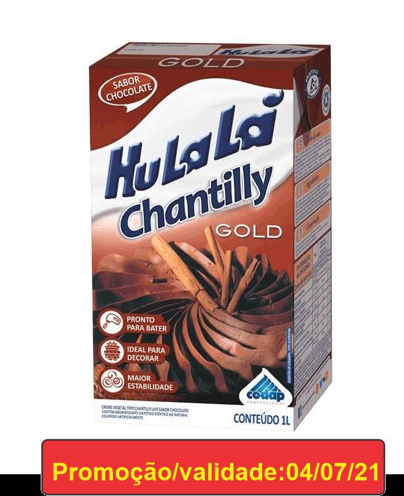 CHANTILLY CHOCOLATE 1L GOLD HULALÁ