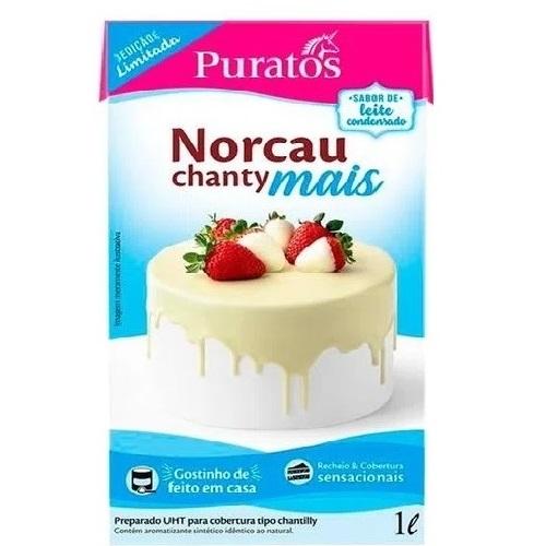 CHANTILLY NORCAU CHANTY MAIS LEITE CONDENSADO 1L PURATOS