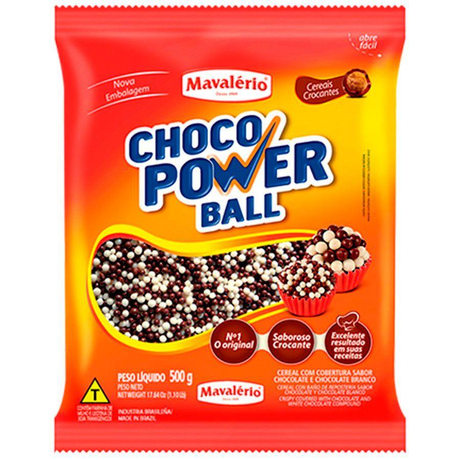 CHOCO POWER BALL MICRO 500GR MAVALÉRIO