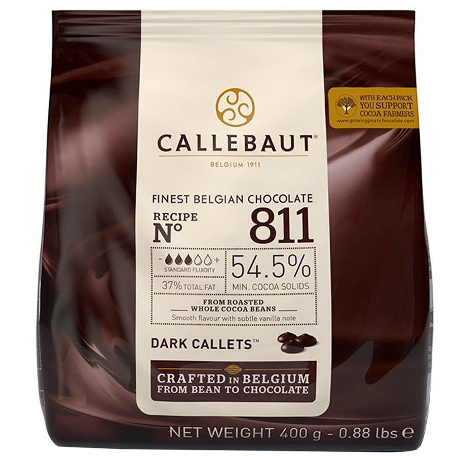 CHOCOLATE AMARGO 811 54,5% 400G CALLEBAUT