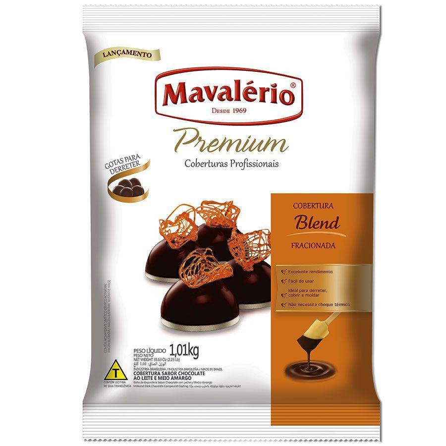 CHOCOLATE EM GOTAS PREMIUM BLEND 1,01KG MAVALÉRIO