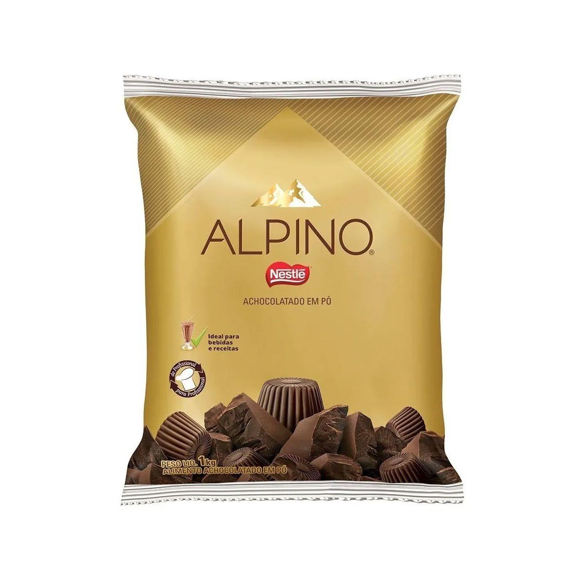CHOCOLATE EM PÓ ALPINO 1KG - NESTLÉ