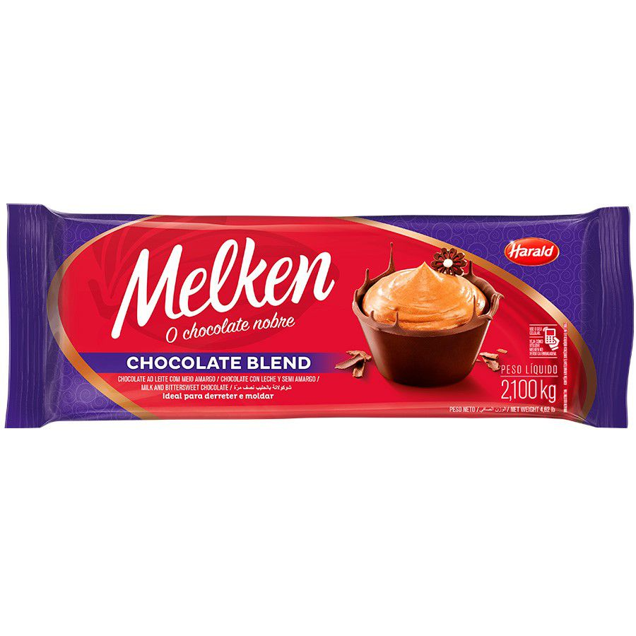 CHOCOLATE MELKEN BLEND 2.1KG HARALD