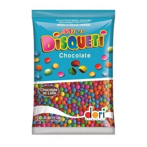 CHOCOLATE MINI DISQUETI 500 DORI