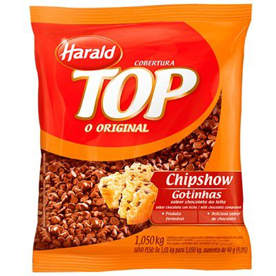 CHOCOLATE TOP CHIPSHOW GOTAS 1.050KG HARALD