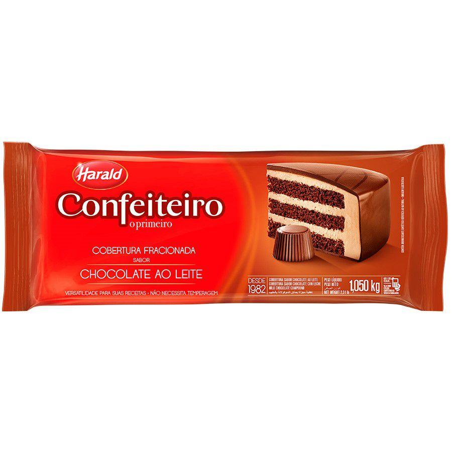 COBERTURA AO LEITE CONFEITEIRO 1.050KG HARALD