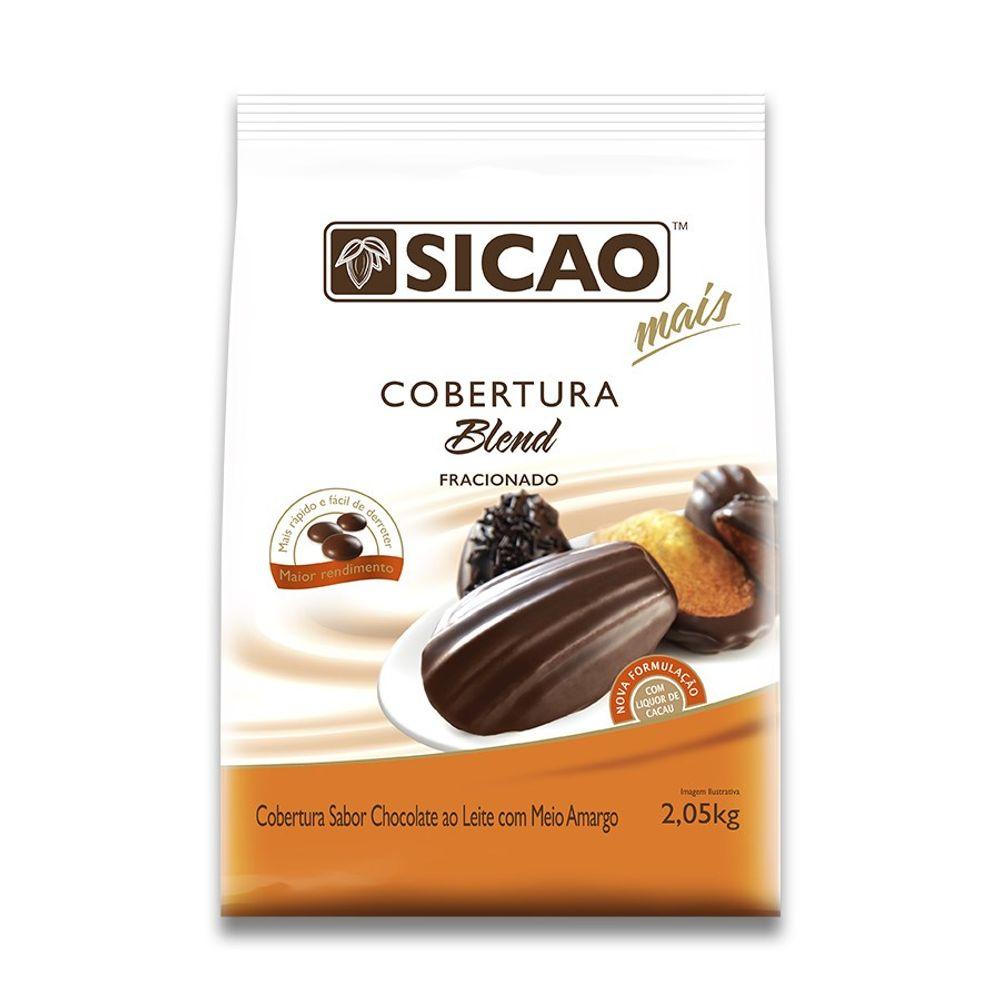 COBERTURA BLEND SICAO MAIS GOTAS 2,05KG - SICAO