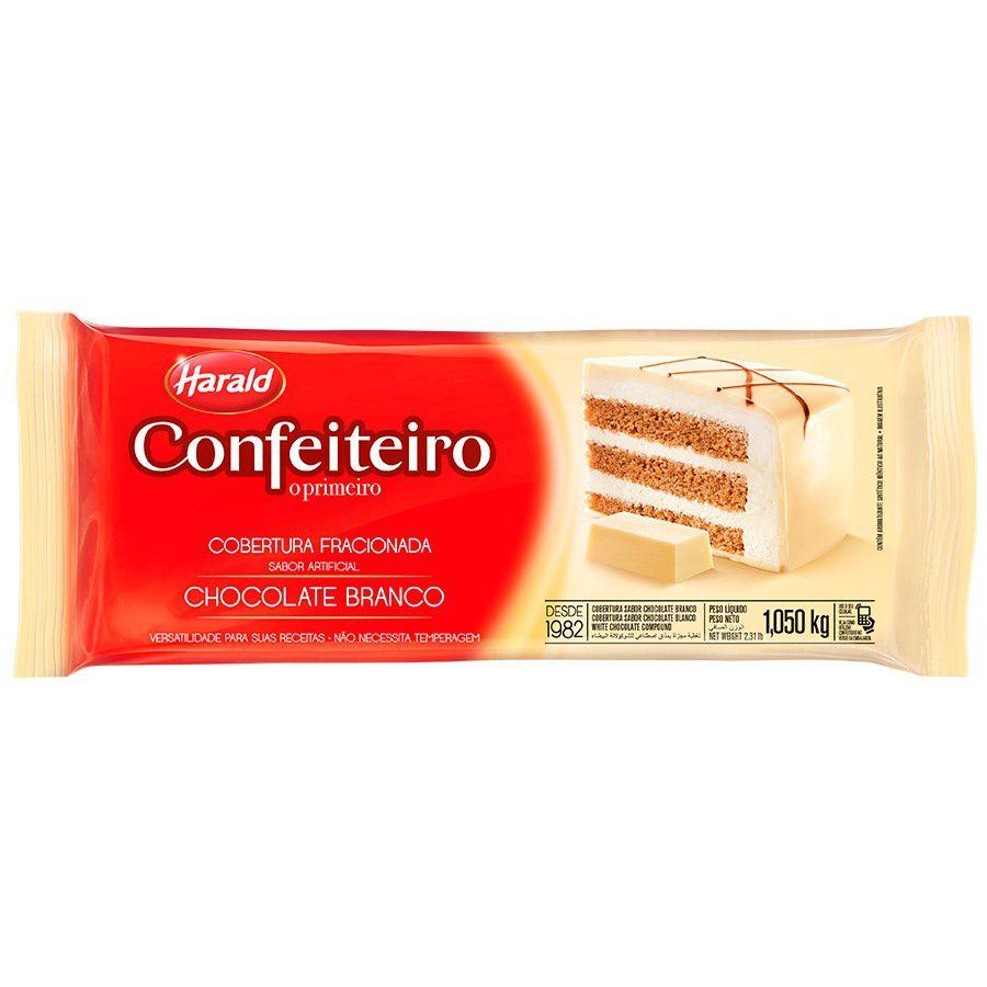 COBERTURA BRANCA CONFEITEIRO 1.050KG HARALD