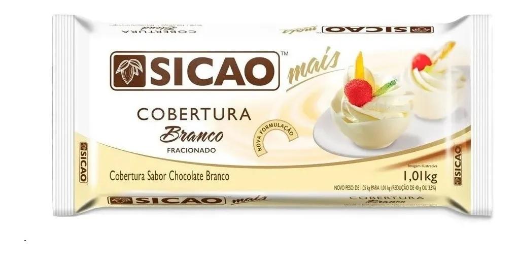 COBERTURA BRANCO SICAO MAIS BARRA 1,01KG - SICAO