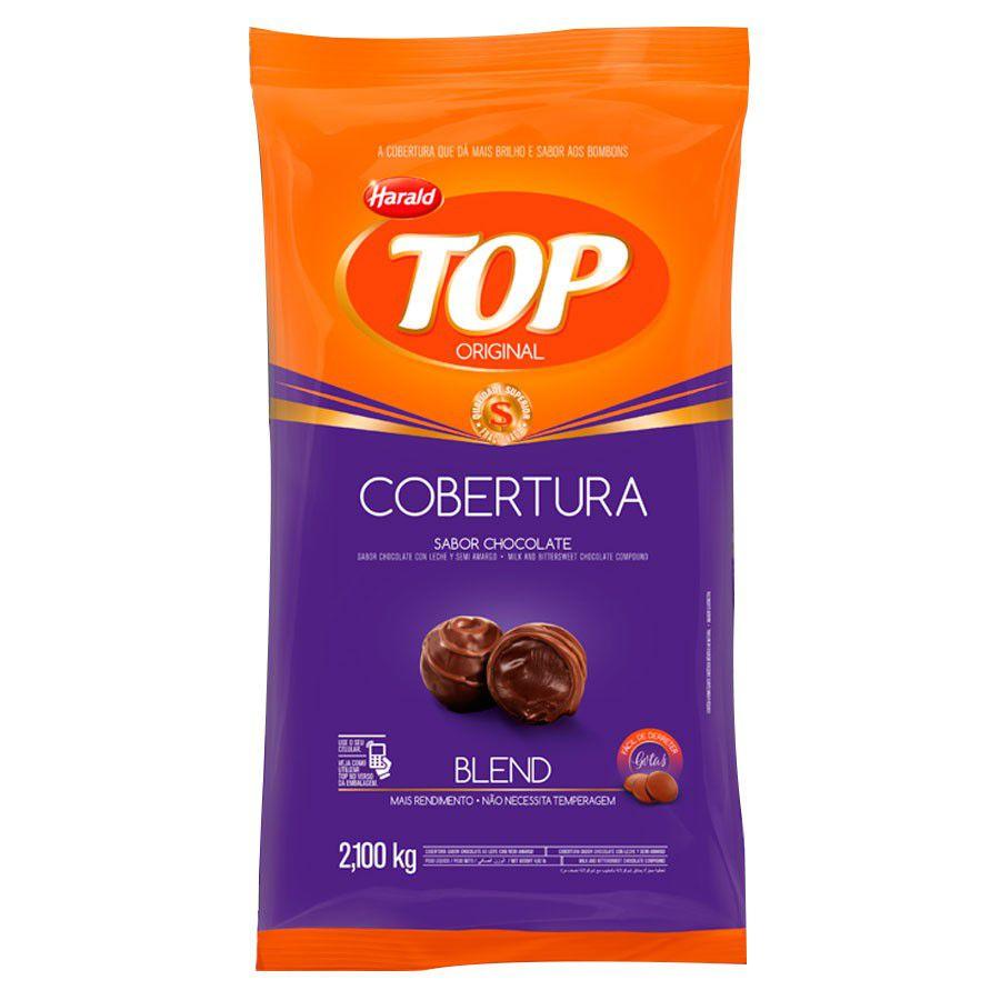 COBERTURA DE CHOCOLATE TOP GOTAS BLEND 2,1KG HARALD