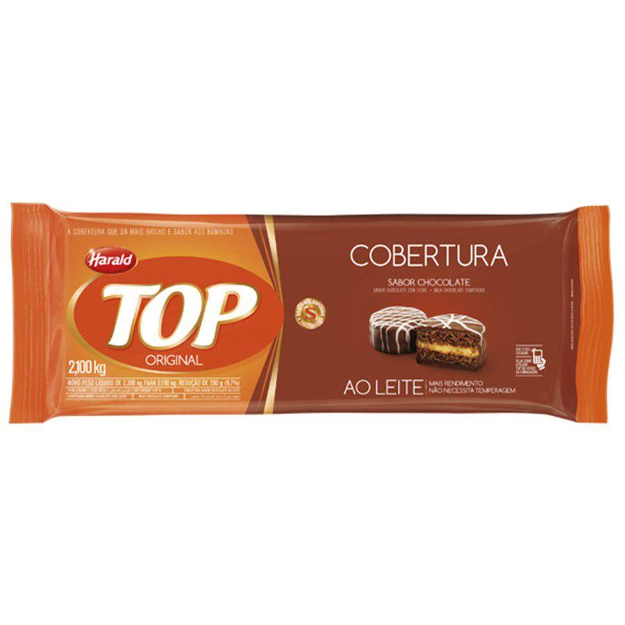 COBERTURA TOP AO LEITE 2.1KG HARALD