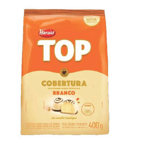 COBERTURA TOP GOTAS BRANCO 400G - HARALD