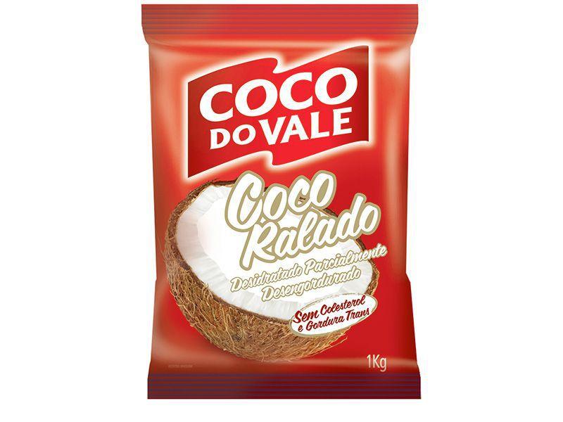 COCO RALADO DESIDRATADO 1KG COCO DO VALE