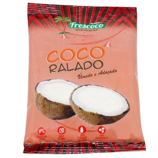COCO RALADO FINO E ADOC 500G FRESCOCO