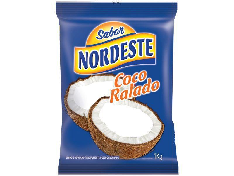 COCO RALADO FINO ÚMIDO 1KG NORDESTE