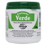 CORANTE EM PÓ 100G ARCOLOR  -  Verde