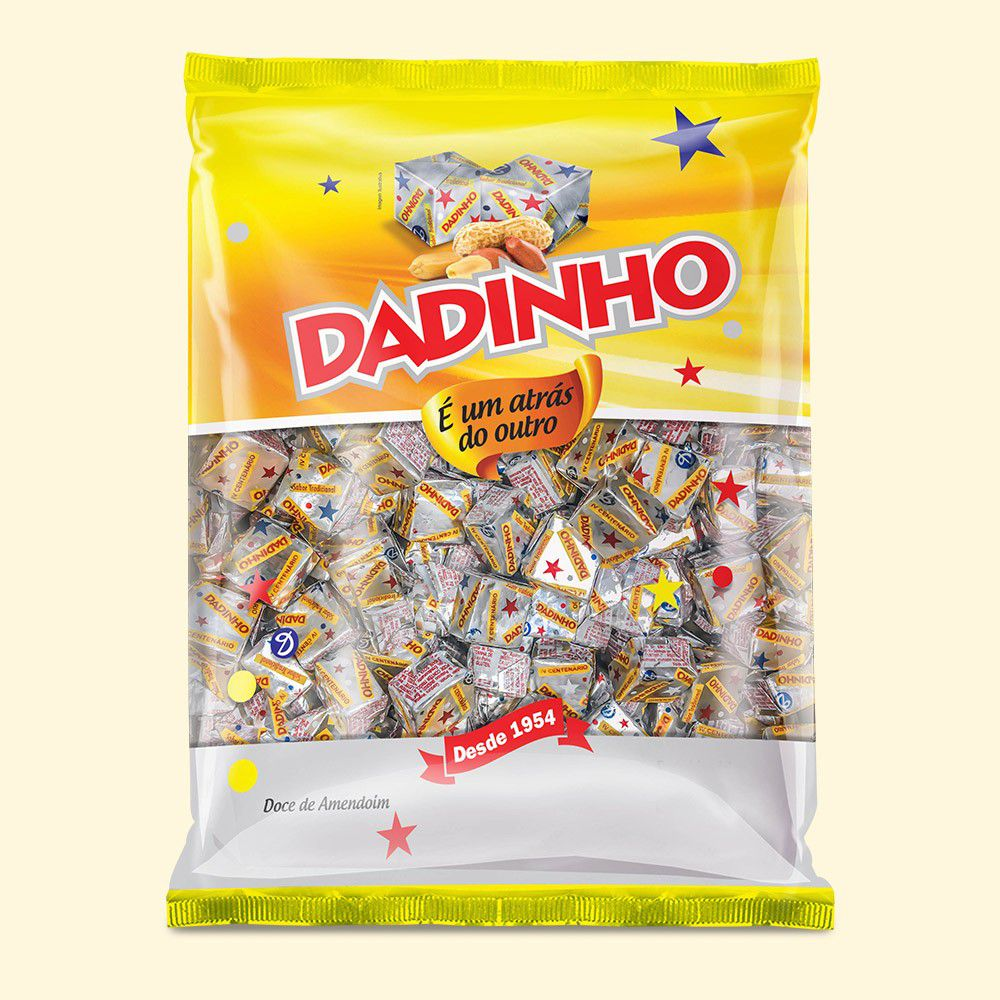 DADINHO 900GR DOCE SABOR