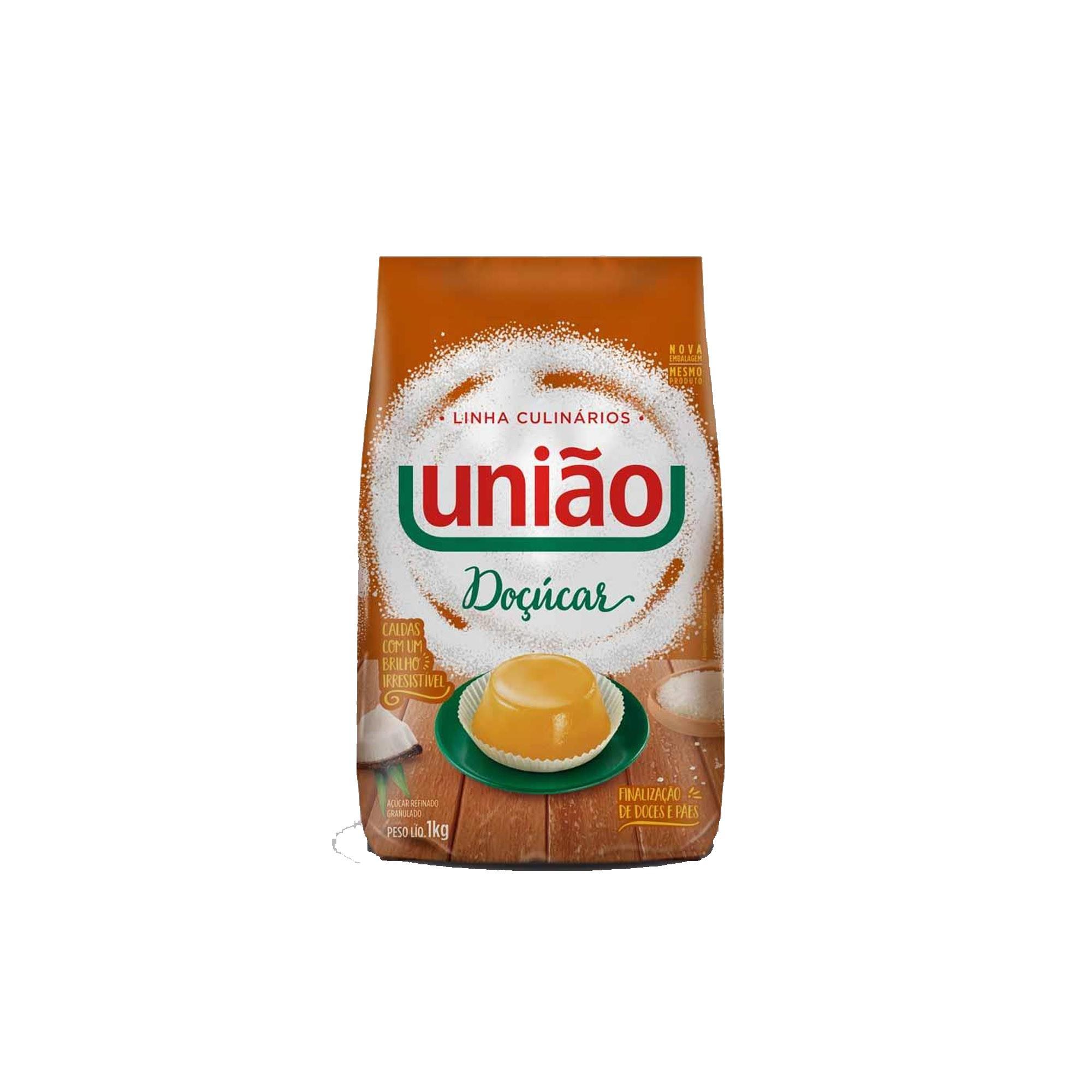 DOÇÚCAR 1KG UNIÃO