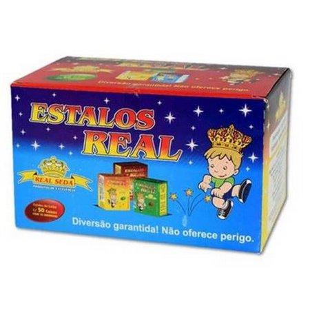 ESTALINHOS (BIRIBINHA) REAL SEDA C/50X15UN