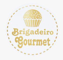 ETIQUETA BRIGADEIRO GOURMET (2515) COM 100 UNIDADES IDEIA