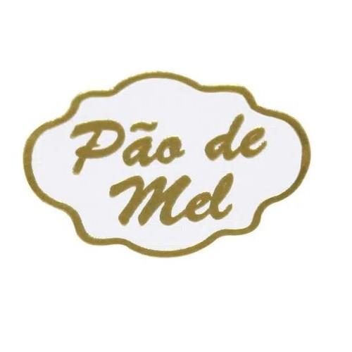 ETIQUETA PÃO DE MEL COM 100 UNIDADES (COD-19) MAGIA ETIQUETAS