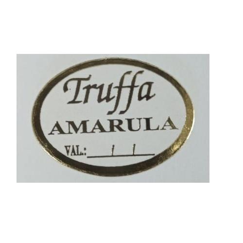 ETIQUETA  TRUFFA AMARULA COM 100 UNIDADES (COD-127) MAGIA ETIQUETAS