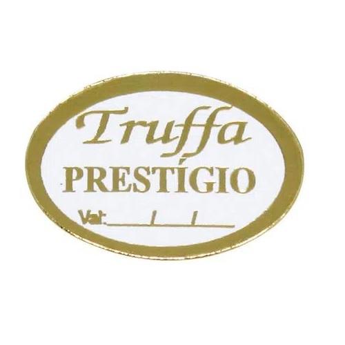 ETIQUETA TRUFFA PRESTÍGIO COM 100 UNIDADES (COD-133/03) MAGIA ETIQUETAS
