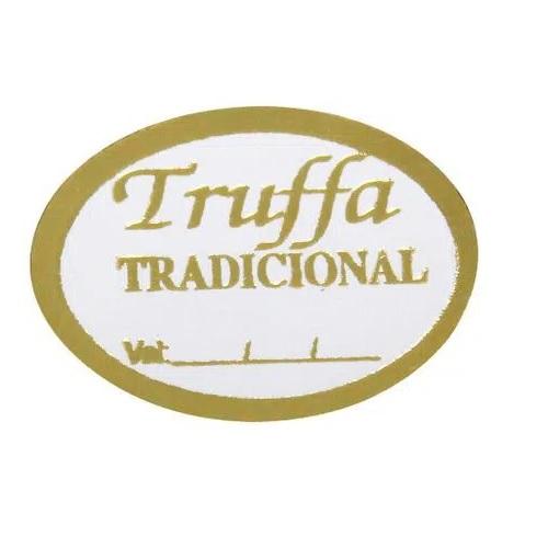 ETIQUETA TRUFFA TRADICIONAL COM 100 UNIDADES (COD-135/05) MAGIA ETIQUETAS